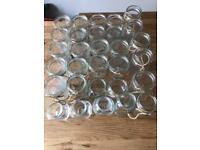 Wedding - Glass Jars, Vases & Tealights