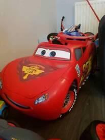 Electric lightening McQueen car