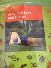 Tent & tunnel