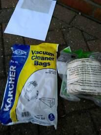 Karcher MV2 filter Hoover bags
