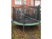 10 feet Plum Trampoline with enclosure
