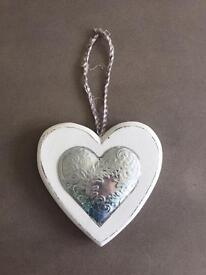 Shabby Chic Heart Decoration