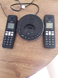 BT Cordless phone with Answer machine