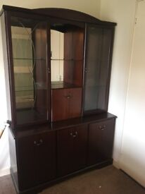 Needing to clear house urgently, we have a wall unit as per image free to a good home