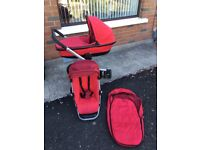 Quinny Pram, Stroller, Push chair (from baby to toddler) - good condition