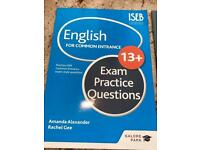 English revision guides (3 books)