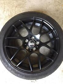 """18"""" Alloys with tyres for sale"""