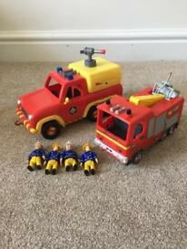Fireman sam Venus and Jupiter with 4 figures