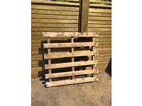 Wooden pallet - great for firewood or garden projects!