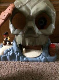 Jake & the Neverland Pirates Skull Island