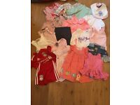 3-6 months baby girl bundle. Includes next and tedbaker