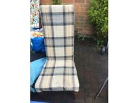 Cushioned chair- excellent for upcycling! fREE