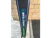 O'Brien carbon fibre monoski for sale. Light weight and mano