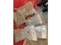 Used, Bags of alloy clout nails for sale  Rainworth, Nottinghamshire