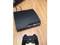 Sony PlayStation 3 - PS3 SLIM 160 GB - excellent condition with selection of games including GTA 5