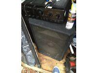 KAM 600w speakers