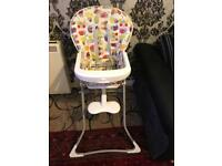 Graco baby high chair excellent condition