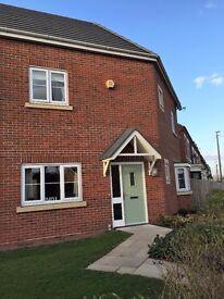 3 Bedroom semi-detached home, off-road parking, garage, fitted wardrobes, garden