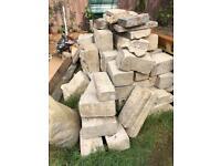 100 or so bricks as shown