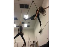 Dance trapeze classes in west London
