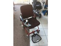Shoprider Roma TE-FS888 Lightweight Powered Wheelchair