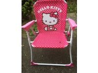 Girl's Hello Kitty Camping Chair