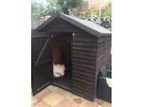 Shed 6ftx6ft