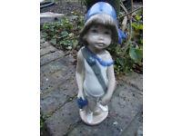 genuine casades spanish porcelain , pirate boy figurine