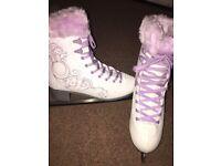 Ice Skating Ladies Boots