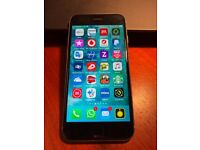 iPhone 6S 64GB Space Grey unlocked and apple case
