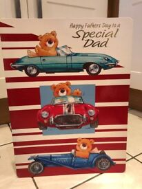 A3 Fathers Day Card