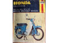Bike workshop manuals