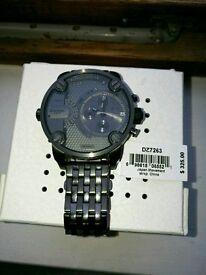 Diesel oversized watch with box. DZ7263 £120