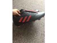 BRAND NEW Adidas Crazy Quick Malice FG rugby boots size
