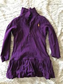 Girls Ralph Lauren t-shirt dress size 2t immaculate never worn