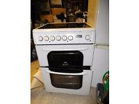 Free standing cooker - white