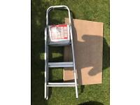 Step ladders & paste table
