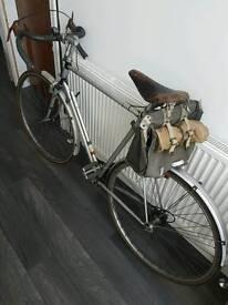 Vintage Raleigh Racer bike