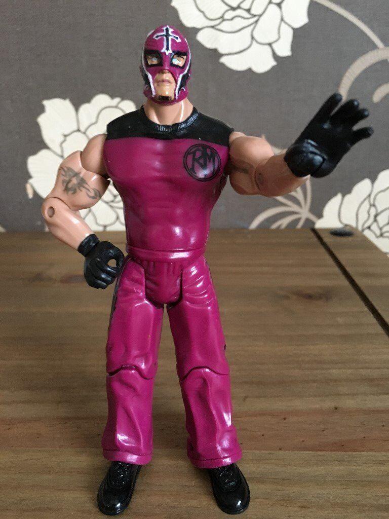 Rey Mysterio 2003 Jakks Pacific Wwe Wwf Figure Wrestling