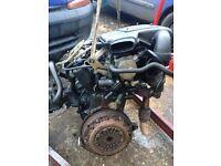 Van Engine.Renault Kangoo Engine 1.9 Diesel.Spares or repair