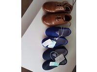 new with tags- mothercare shoes size 6 & River island shoes worn once