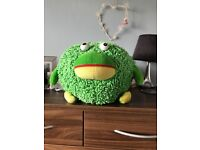 Green Micro-Fibre Frog, Decorative Teddy Bear Kids Soft Toy, Home Furniture