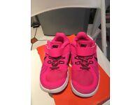 Nike Free 5 girls trainers size uk2