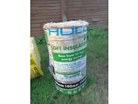 Cavity wall & loft insulation & breathable roofing felt