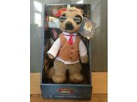 Compare the Meerkat Yakov, Oleg and Aleksandr soft toys x3 new with tags/boxes