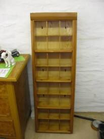MODERN SOLID PINE 24 CUBBY HOLE SHELVING / DISPLAY CABINET. VIEWING/DELIVERY AVAILABLE