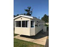 Static Caravan Sited on the fantastic Whitecliff Bay Holiday Park
