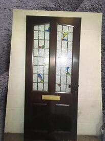 Magnet hard wood door