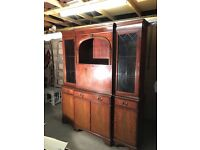 Mahogany Caninet / Side Unit - perfect for shabby chic project!