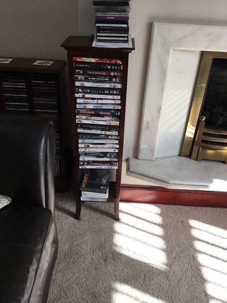 Mahogany DVD Storage Unit